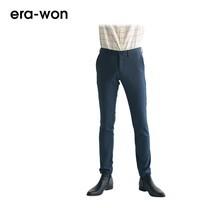 era-won กางเกงสแล็คขายาว รุ่น CITY LIGHT WRIGHT ทรง Super Skinny - สีน้ำเงินเข้ม City Navy