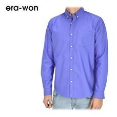 era-won เสื้อเชิ้ต รุ่น OXFORD SHIRT ANTI-BACTERIA ทรง Slim คอปก - สีม่วง (Toronto)