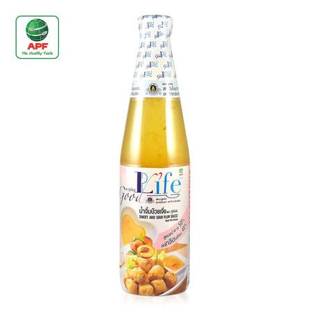 Goodlife ซอสบ๊วยเจี่ย สูตรลดน้ำตาล และลดเกลือโซเดียม 500 ml.
