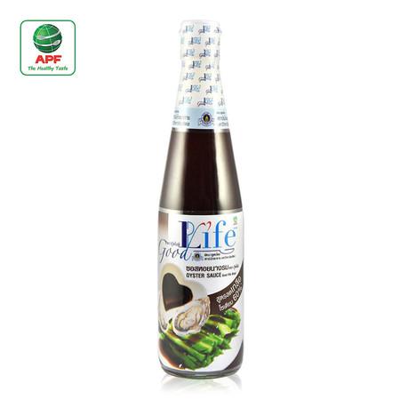 Goodlife ซอสหอยนางรม สูตรลดน้ำตาล และลดเกลือโซเดียม 500 ml.