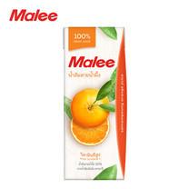 MALEE น้ำส้มสายน้ำผึ้ง 100% ขนาด 200 มล. [1 ลัง บรรจุ 24 กล่อง]