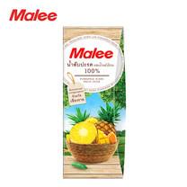 MALEE น้ำสับปะรด (นางแล จังหวัดเชียงราย) ผสมน้ำผลไม้รวม 100% ขนาด 200 มล. [1 ลัง บรรจุ 24 กล่อง]
