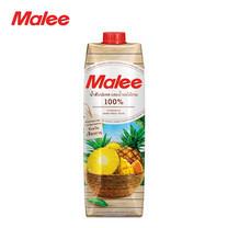 MALEE น้ำสับปะรด (นางแล จังหวัดเชียงราย) ผสมน้ำผลไม้รวม 100% ขนาด 1000 มล. [1 ลัง บรรจุ 12 กล่อง]