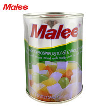MALEE ฟรุตค็อกเทลกระป๋อง สูตรลูกตาล ขนาด 20 oz [1 ลัง บรรจุ 24 กระป๋อง]