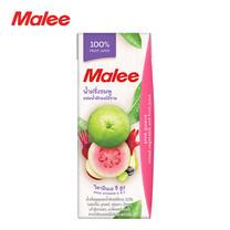 MALEE น้ำฝรั่งชมพูผสมน้ำผักผลไม้รวม 100% ขนาด 200 มล. [1 ลัง บรรจุ 24 กล่อง]