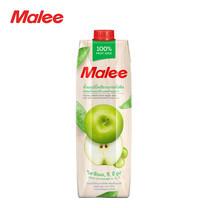 MALEE น้ำแอปเปิ้ลเขียวผสมน้ำองุ่นขาว 100% ขนาด 1000 มล. [1 ลัง บรรจุ 12 กล่อง]