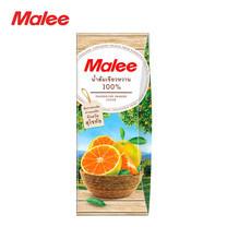 MALEE น้ำส้มเขียวหวาน (จากตำบลแม่สิน จังหวัดสุโขทัย) 100% ขนาด 200 มล. [1 ลัง บรรจุ 24 กล่อง]