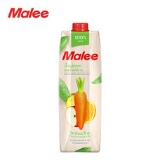 MALEE น้ำแครอทผสมน้ำผลไม้รวม 100% ขนาด 1000 มล [1 ลัง บรรจุ 12 กล่อง]