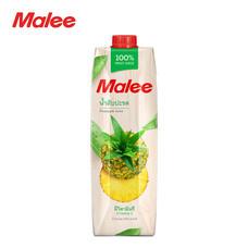 MALEE น้ำสับปะรด 100% ขนาด 1000 มล. [1 ลัง บรรจุ 12 กล่อง]