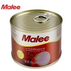 MALEE เงาะกระป๋อง ขนาด 6 oz [1 ลัง บรรจุ 48 กล่อง]