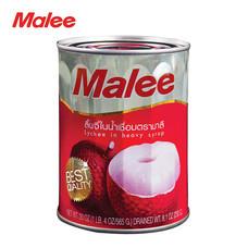 MALEE ลิ้นจี่กระป๋อง ขนาด 20 oz [1 ลัง บรรจุ 24 กล่อง]