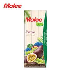 MALEE น้ำองุ่นขาวผสมน้ำเสาวรส 20% ขนาด 180 มล. ตรามาลี ทรอปิคอล [1 ลัง บรรจุ 36 กล่อง]