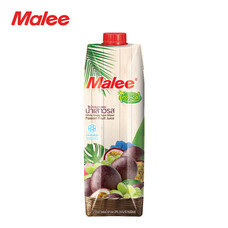 MALEE น้ำองุ่นขาวผสมน้ำเสาวรส 20% ขนาด 1000 มล. ตรามาลี ทรอปิคอล [1 ลัง บรรจุ 12 กล่อง]