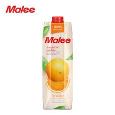 MALEE น้ำส้มเนเวลผสมเนื้อส้ม 100% ขนาด 1000 มล. [1 ลัง บรรจุ 12 กล่อง]