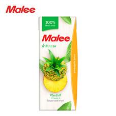 MALEE น้ำสับปะรด 100% ขนาด 200 มล. [1 ลัง บรรจุ 24 กล่อง]