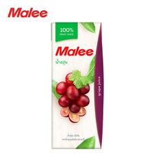 MALEE น้ำองุ่น 100% ขนาด200 มล. [1 ลัง บรรจุ 24 กล่อง]
