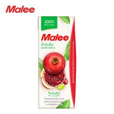 MALEE น้ำทับทิมผสมน้ำผลไม้รวม 100% ขนาด 200 มล. [1 ลัง บรรจุ 24 กล่อง]