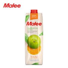 MALEE น้ำส้มเขียวหวาน 100% ขนาด 1000 มล. [1 ลัง บรรจุ 12 กล่อง]