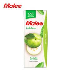 MALEE น้ำฝรั่ง 100% ขนาด 200 มล. [1 ลัง บรรจุ 24 กล่อง]