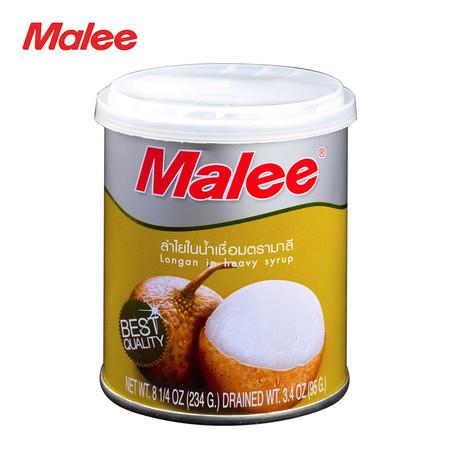 MALEE ลำไยกระป๋อง ขนาด 8.25 oz [1 ลัง บรรจุ 48 กระป๋อง]