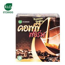 ขาวละออ คอฟฟี่ ฟอร์ม 1 กล่อง (10 ซอง) | Khaolaor Coffee Form 1 box (10 Sachets)