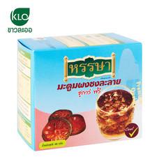 ขาวละออ มะตูมผงชงละลาย ชูการ์ฟรี 1 กล่อง (8 ซอง) | Khaolaor Bael Fruit Instant Drink Mix Sugar Free 1 box (8 Sachets)