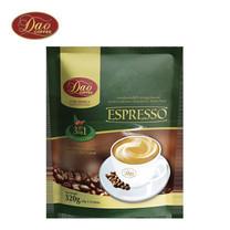 กาแฟ ดาวคอฟฟี่ DAO COFFE เอสเปรสโซ คอฟฟี่ มิกซ์ 3IN1 ขนาด 20 กรัม แพ็ก 16 ซอง