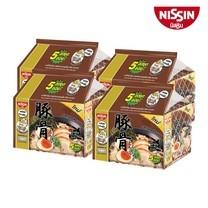 บะหมี่กึ่งสำเร็จรูป นิสชิน พรีเมี่ยม รสซุปกระดูกหมูญี่ปุ่น (ทงคตสึ) สูตรใหม่ (5X4 20 ซอง)
