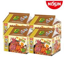 บะหมี่กึ่งสำเร็จรูป นิสชิน พรีเมี่ยม รสไก่เผ็ดไข่เค็ม(แบบแห้ง) Pack (5X4 20 ซอง)