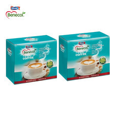 BENECOL COFFEE กาแฟปรุงสำเร็จผสมแพลนท์สตานอล แพ็ก 15 ซอง x 2 กล่อง  กาแฟปรุงสำเร็จตราเบเนคอล