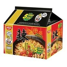 บะหมี่กึ่งสำเร็จรูป นิสชิน พรีเมี่ยม รสซุปเกาหลี ฮอตแอนด์สไปซี่ Pack (5X4 20 ซอง)