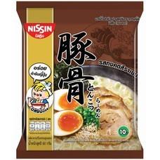 บะหมี่กึ่งสำเร็จรูป นิสชิน พรีเมี่ยม รสซุปกระดูกหมูญี่ปุ่น (ทงคตสึ) Pack (5X4 20 ซอง)