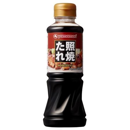 ซอสเทอริยากิ (Teriyaki Sauce) Yamamori 220 ml. SKU 151269