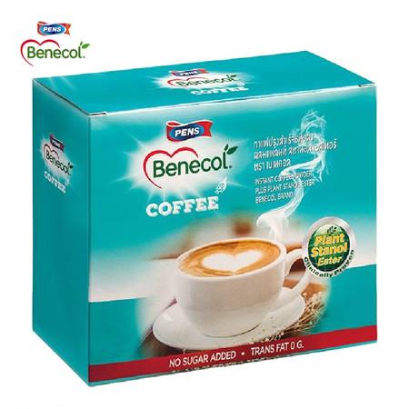 BENECOL COFFEE กาแฟปรุงสำเร็จผสมแพลนท์สตานอล (แพ็ก 15 ซอง) กาแฟปรุงสำเร็จตราเบเนคอล