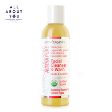 Alteya Organics Pure Facial Cleanser & Wash - Vanilla & Geranium