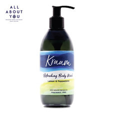 KRAAM - Refreshing Body Wash (Lemon & Peppermint) 290 ml.