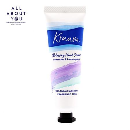 KRAAM Relaxing Hand Cream (Lavender & Lemongrass) 25 ml.