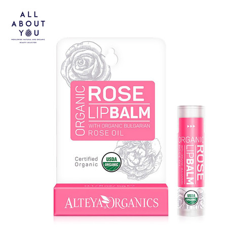 Alteya Organics Organic Lip Balm - Rose