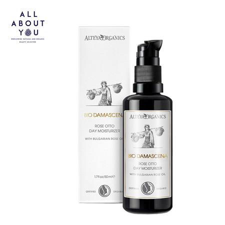 Alteya Organics Organic Day Face Moisturizer Bio Damascena, 50ml