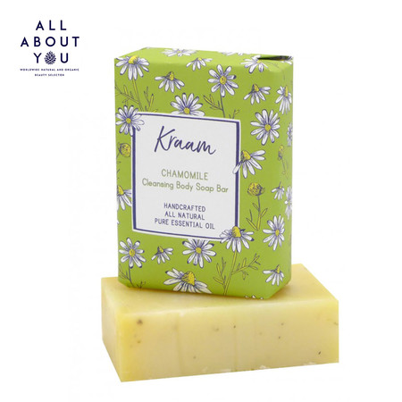 KRAAM - Chamomile Cleansing Body Soap Bar