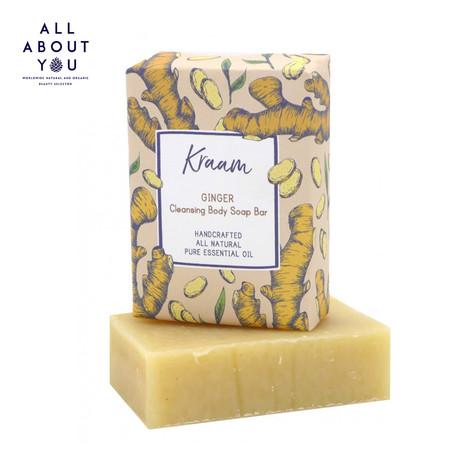 KRAAM - Ginger Cleansing Body Soap Bar
