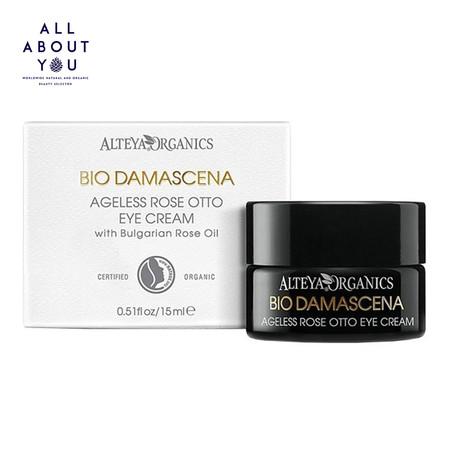 Alteya Organics Organic Eye Contour Cream Bio Damascena, 15ml