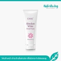 EXXE' Absolute White Facial Foam Whitening Skin Care 100 g โฟมล้างหน้าช่วยให้ผิวสว่างอมชมพู