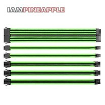 Thermaltake Accessories TTMOD Sleeve Cable [Black/Green]