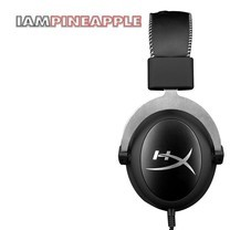 Hyper X Gaming Headset Cloud Silver