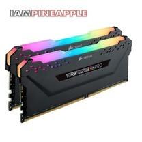 Corsair Memory Vengeance RGB Pro 32GB (2 x 16GB) DDR4 DRAM 3200MHz C16 Kit [Black]