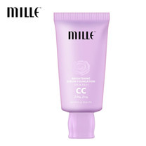 MILLE BRIGHTENING SERUM FOUNDATION CC CREAM SPF 36 PA++ #01 SILKY IVORY