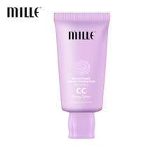 MILLE BRIGHTENING SERUM FOUNDATION CC CREAM SPF 36 PA++ #02 GLOWING NATURAL