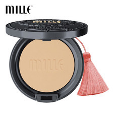 MILLE CHARCOAL MATTE COVER PACT SPF 25 PA++ #01 LIGHT
