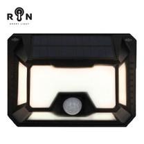 RIN ไฟ Solar Nigthlight สี่เหลี่ยม 66 LED Warm White